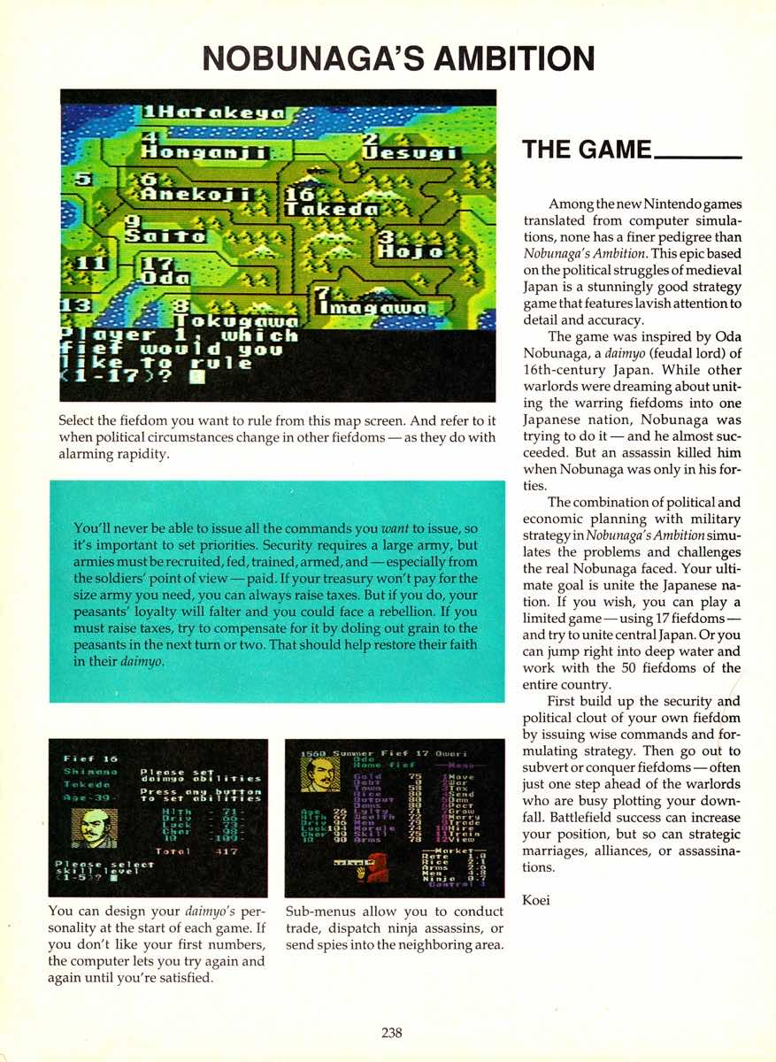 Game Player's Encyclopedia of Nintendo Games page 238