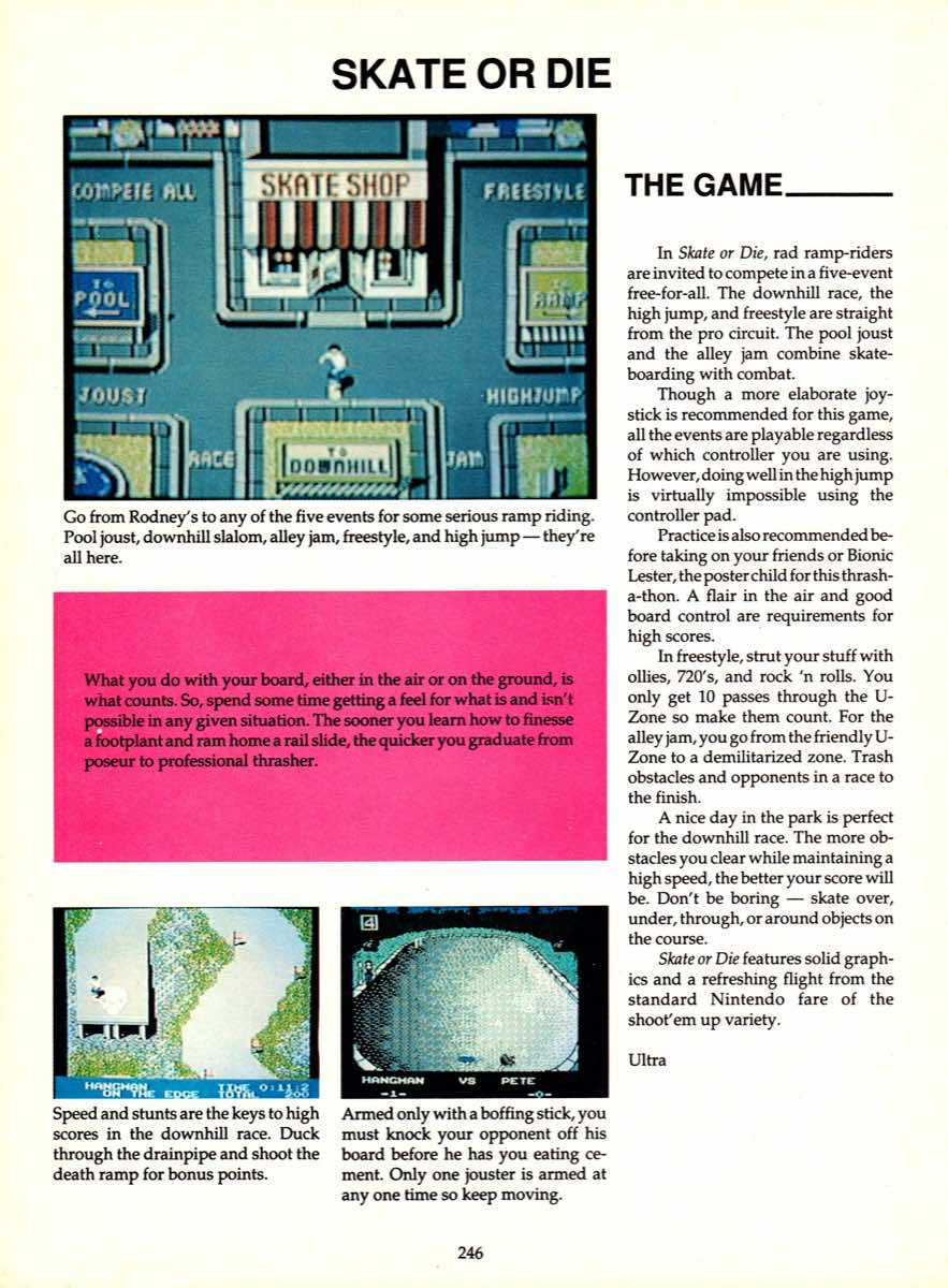 Game Player's Encyclopedia of Nintendo Games page 246