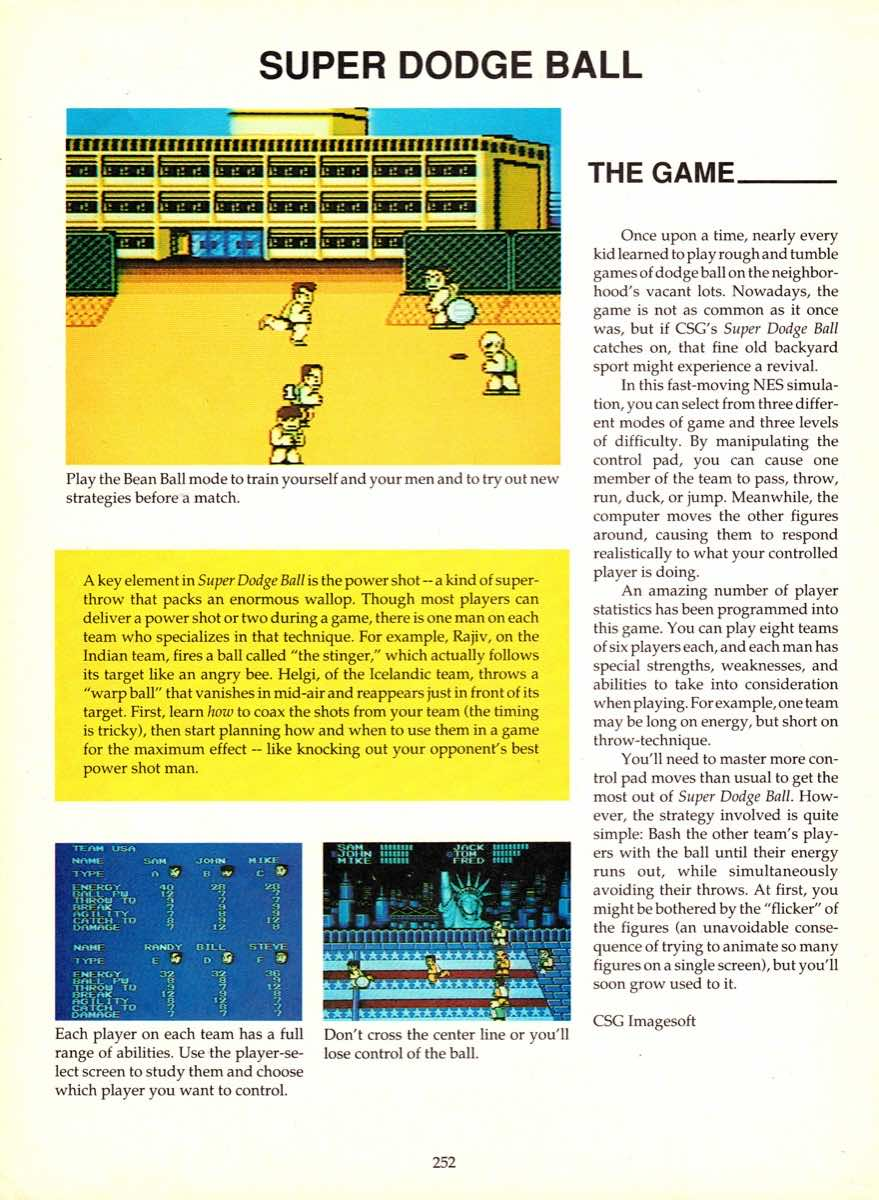Game Player's Encyclopedia of Nintendo Games page 252