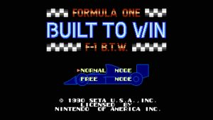 Formula One: Built To Win (NES) Game Hub
