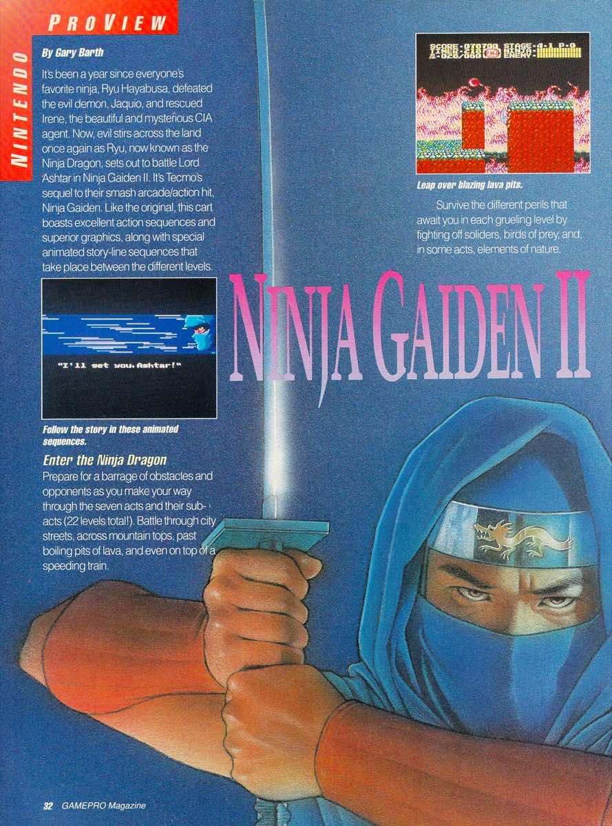 GamePro   May 1990 p-32