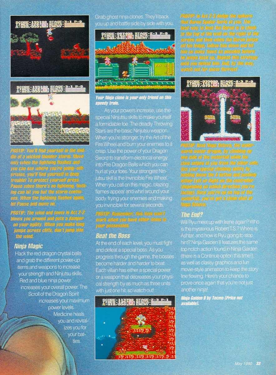 GamePro   May 1990 p-33