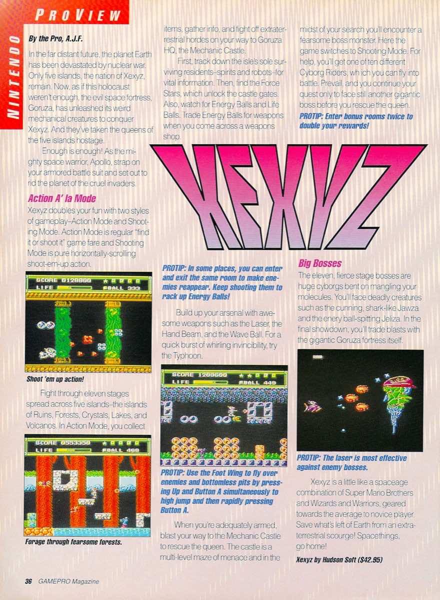 GamePro   May 1990 p-36