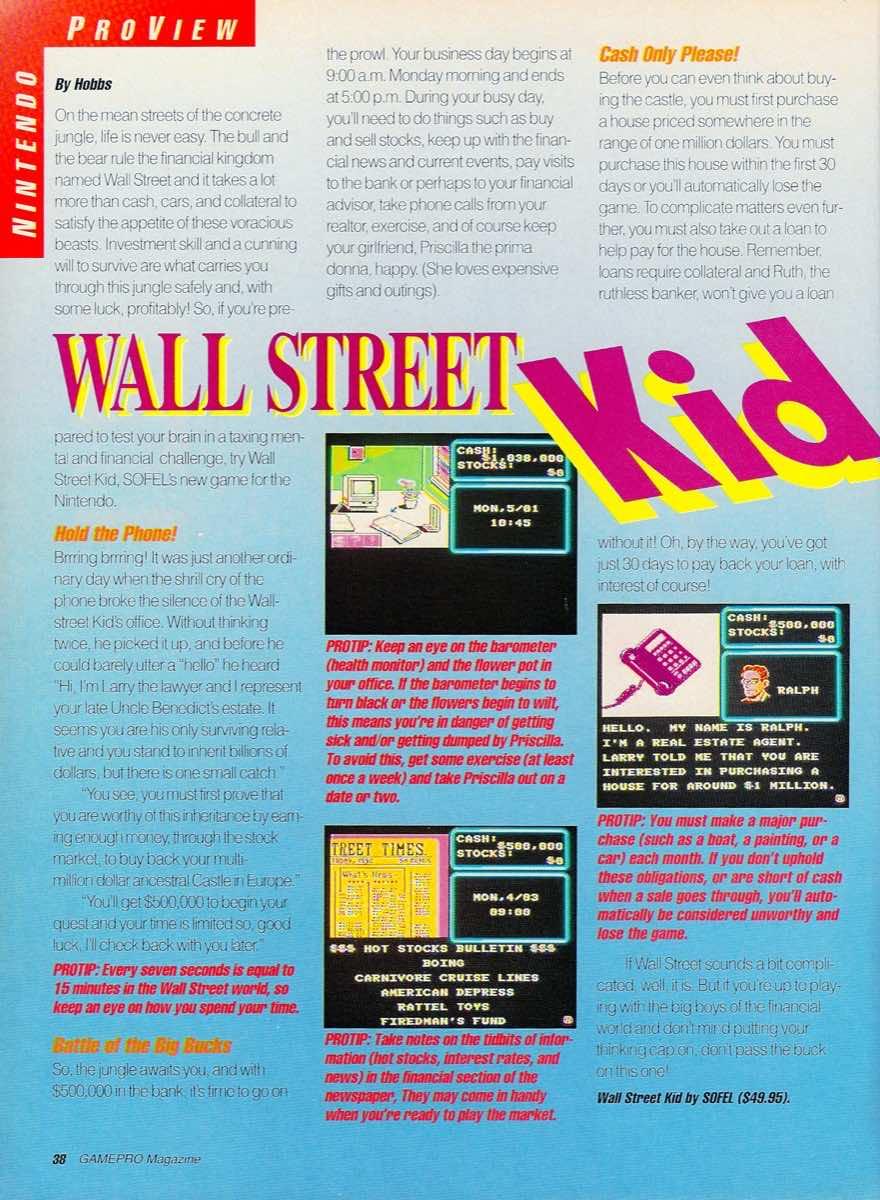 GamePro   May 1990 p-38