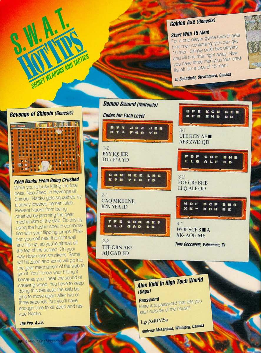 GamePro   May 1990 p-60