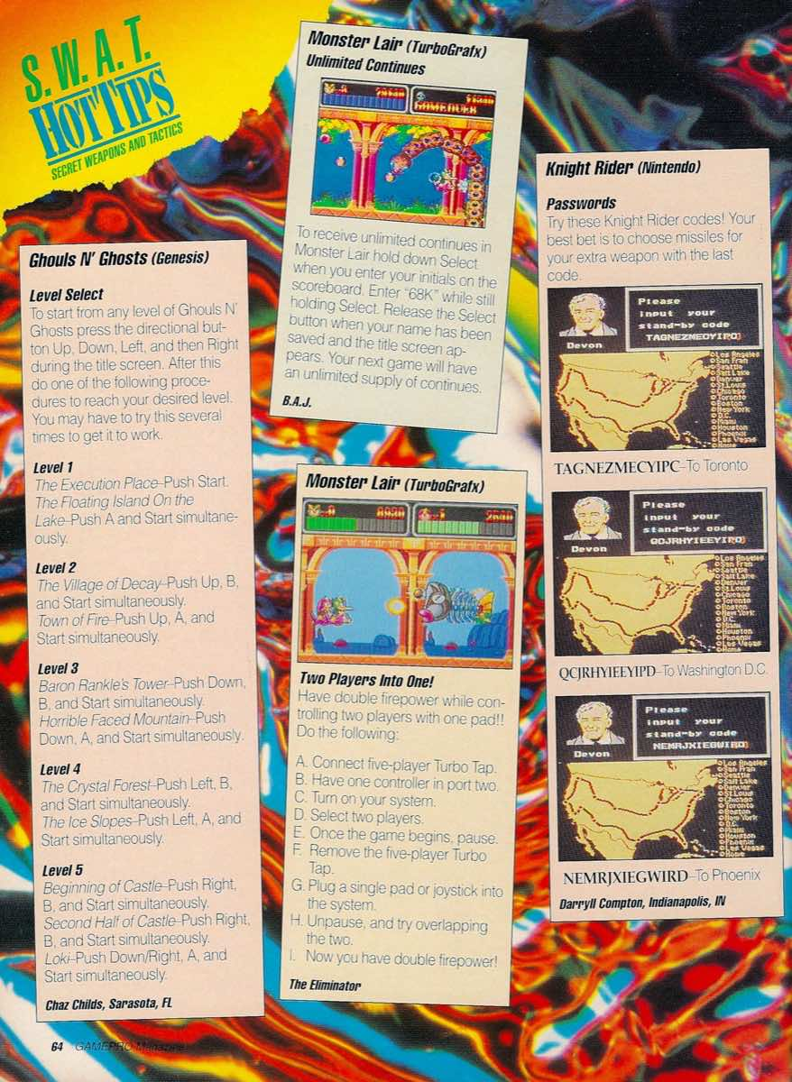 GamePro   May 1990 p-64