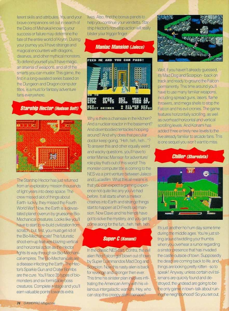 GamePro | May 1990 p-74
