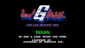 Low G Man (NES) Game Hub