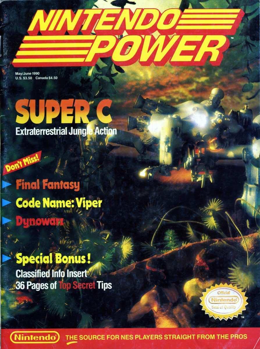 Nintendo Power | May June 1990 | p001