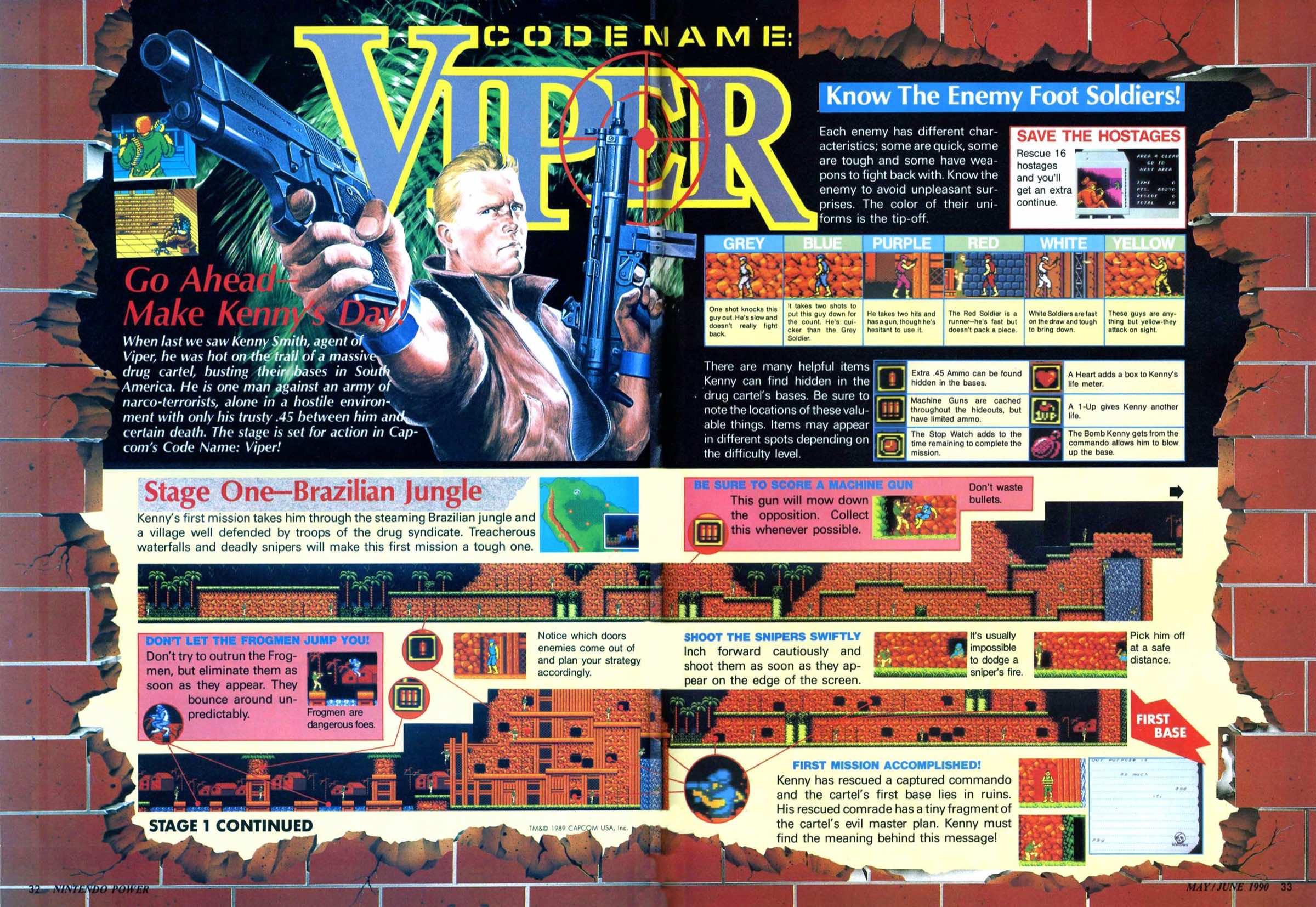 Nintendo Power | May June 1990 | p032-033