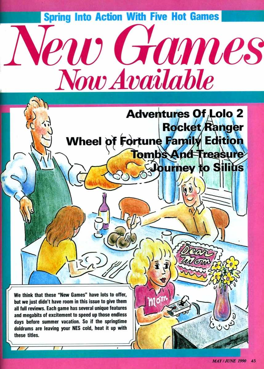 Nintendo Power | May June 1990 | p045