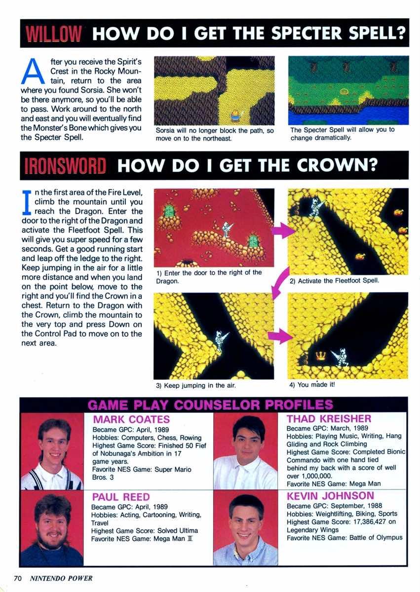 Nintendo Power | May June 1990 | p070