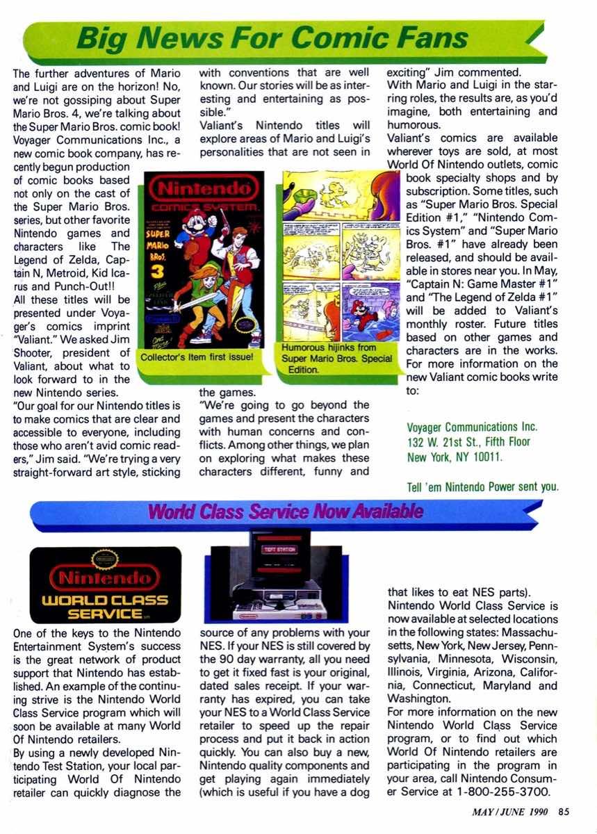 Nintendo Power | May June 1990 | p085