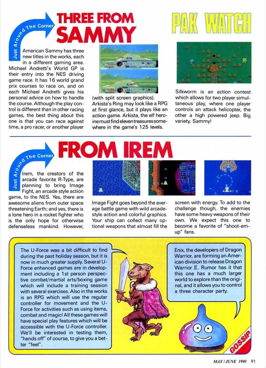 Nintendo Power | May June 1990 | p091