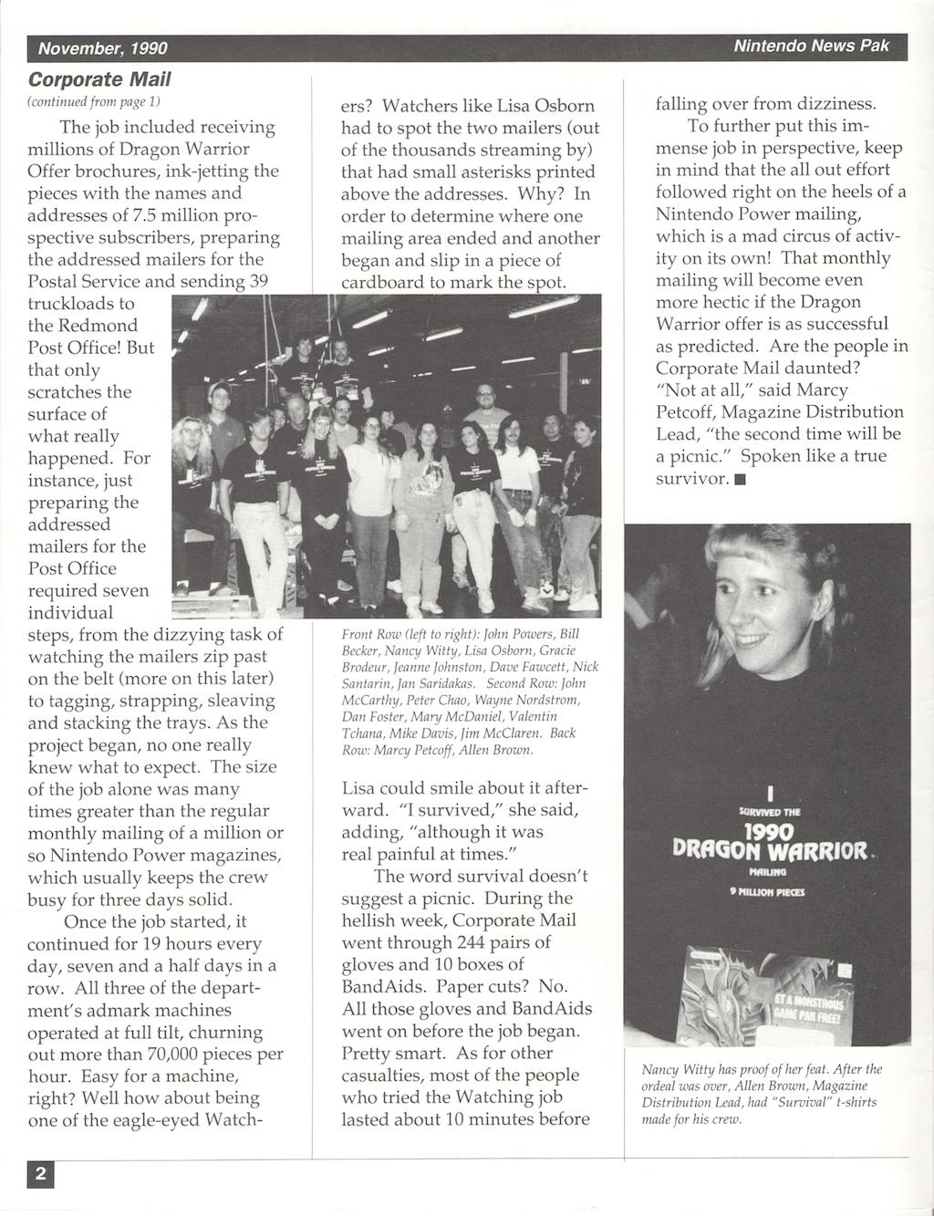 Nintendo-News-Pak | November 1990 p2 | Credit Steven Lin