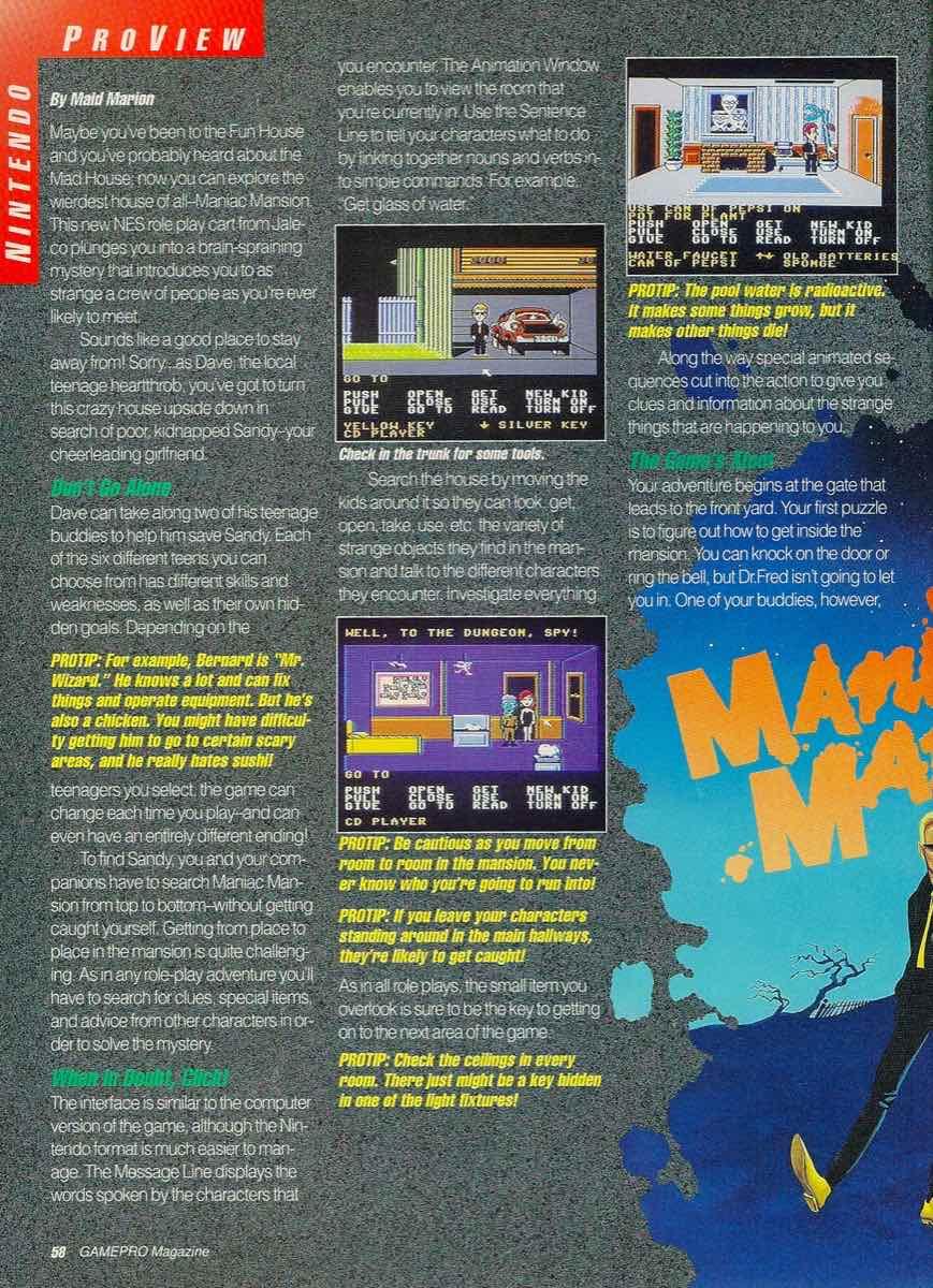 GamePro | June 1990 p-058