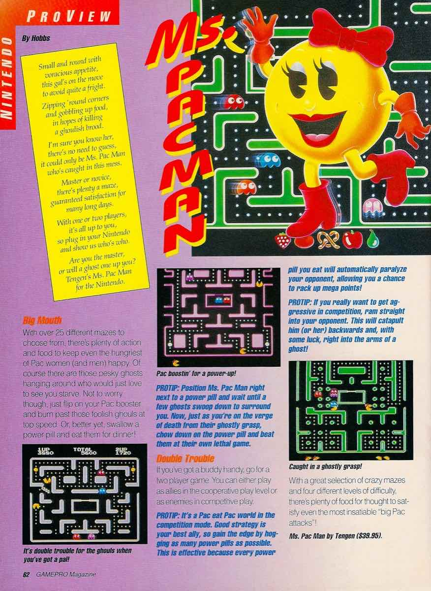 GamePro   June 1990 p-062