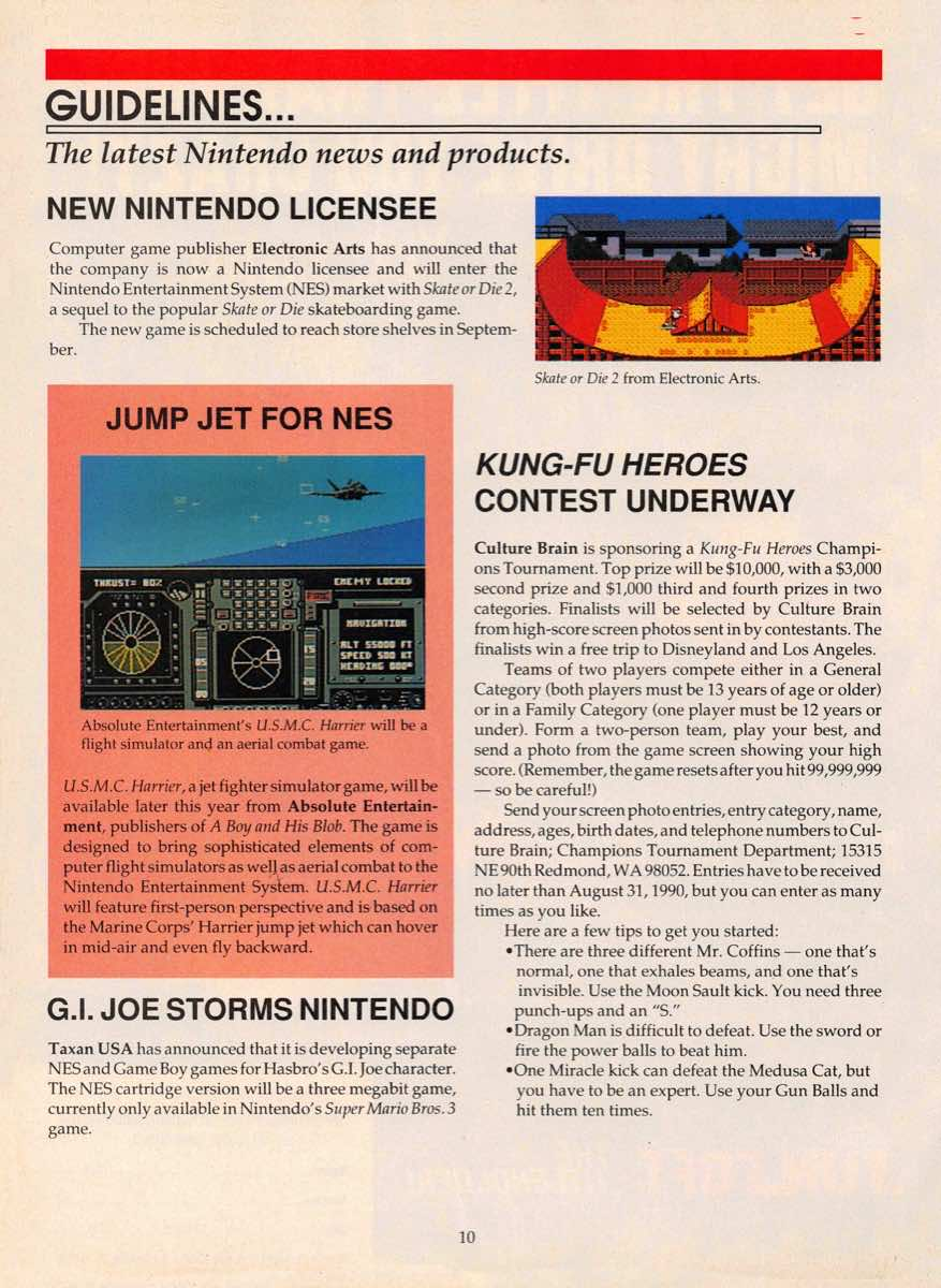 Game Players Guide To Nintendo | June 1990 p-010