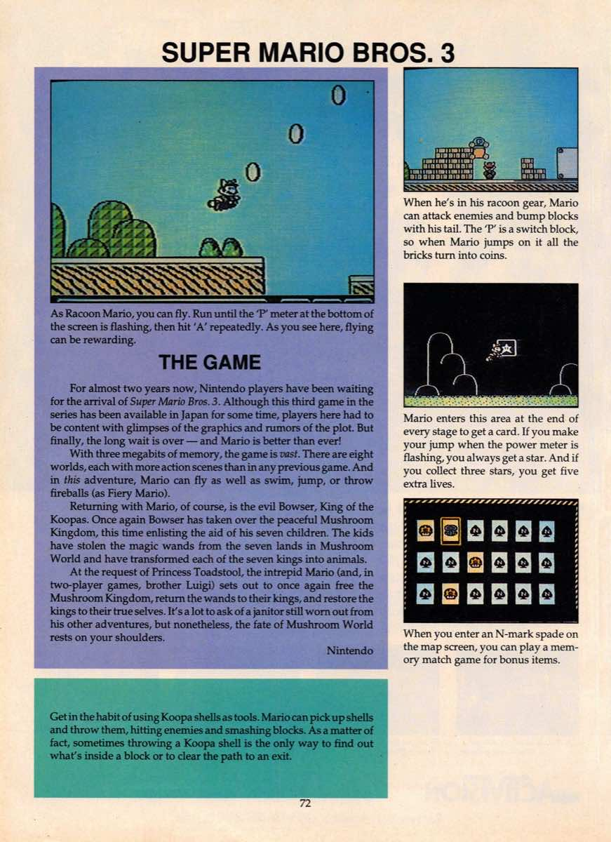 Game Players Guide To Nintendo   June 1990 p-072