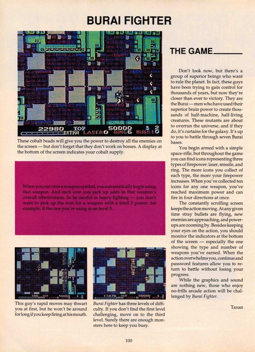 Game Players Guide To Nintendo | June 1990 p-100