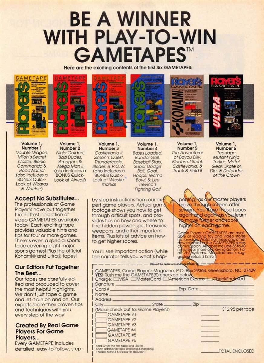 Game Players Guide To Nintendo | June 1990 p-103