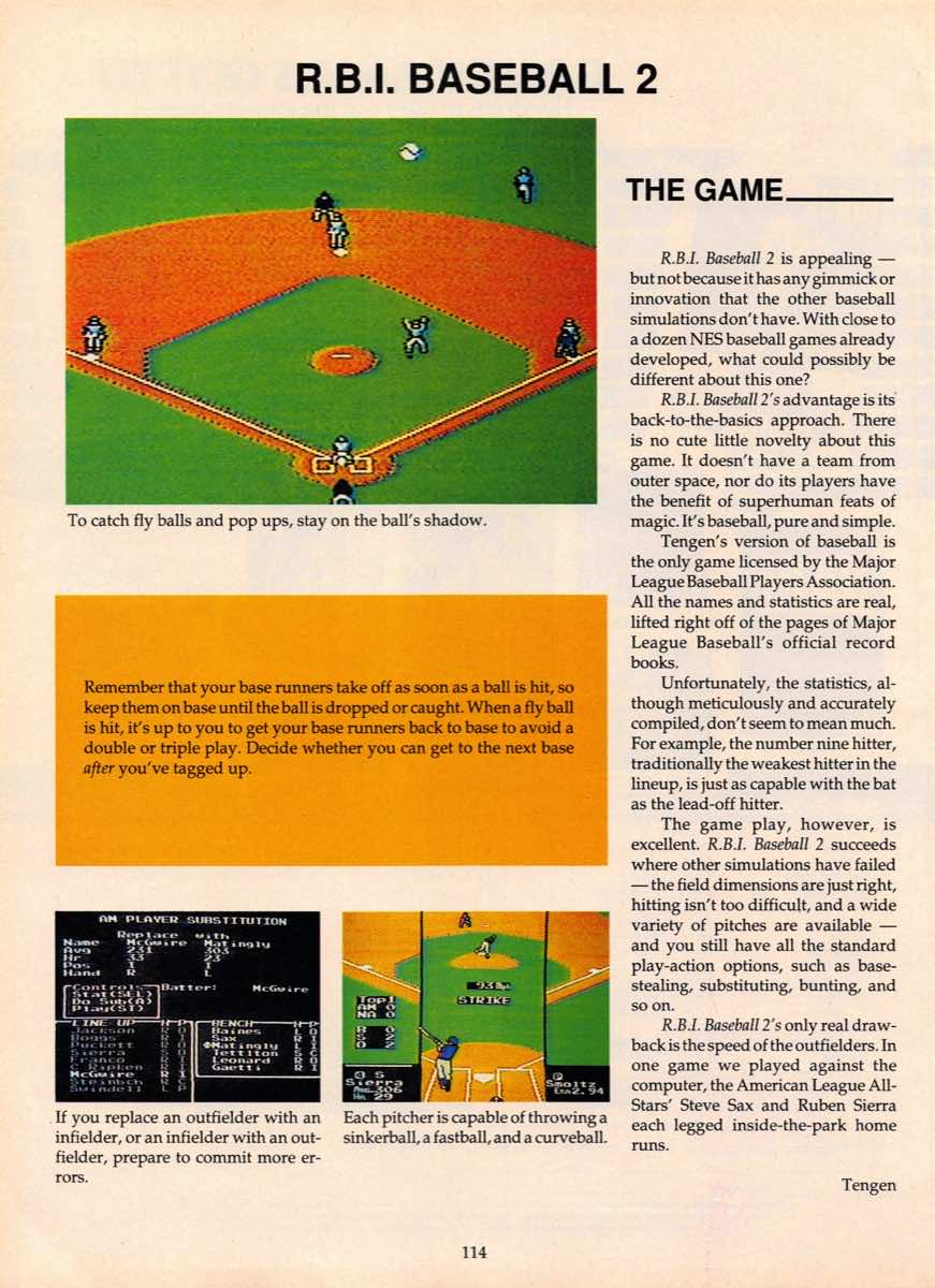 Game Players Guide To Nintendo   June 1990 p-114