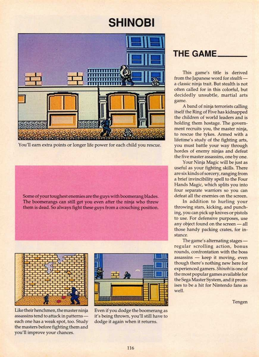 Game Players Guide To Nintendo | June 1990 p-116
