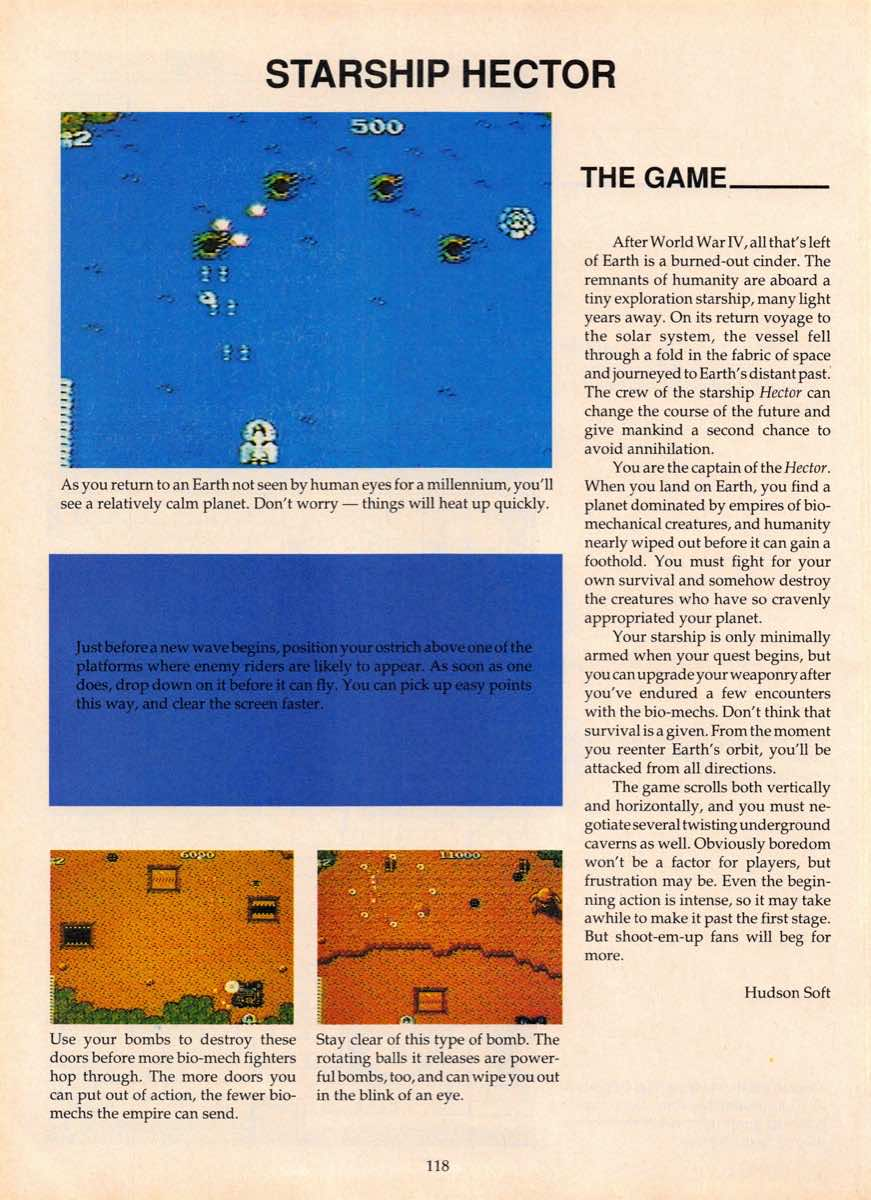 Game Players Guide To Nintendo   June 1990 p-118