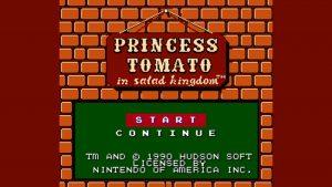Princess Tomato In The Salad Kingdom (NES) Game Hub
