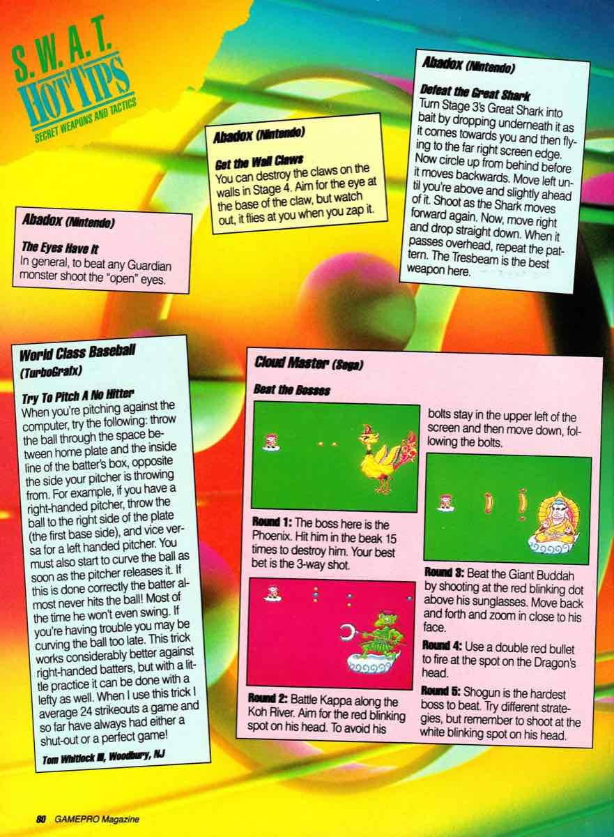 GamePro | July 1990 p-080