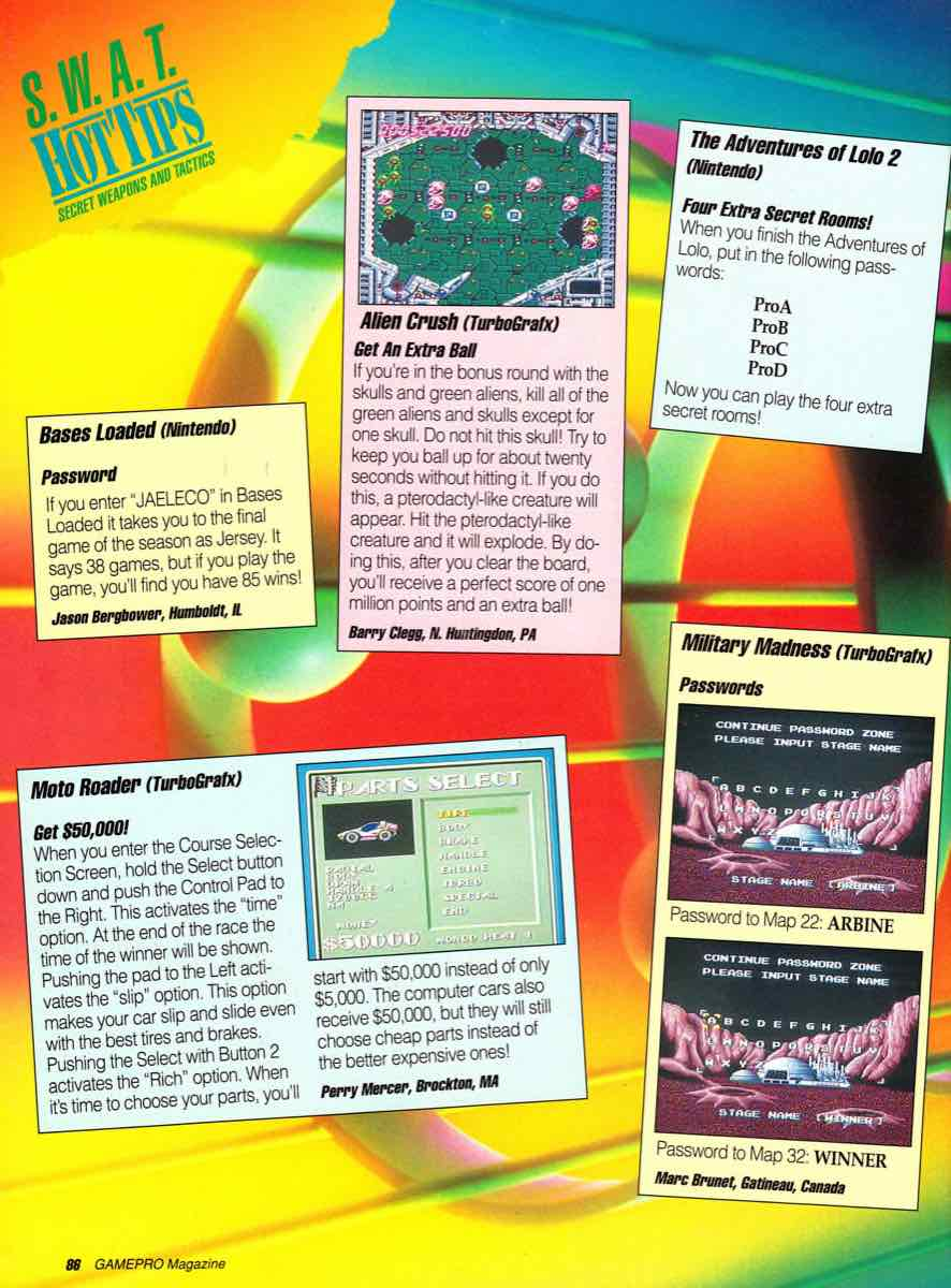 GamePro | July 1990 p-086