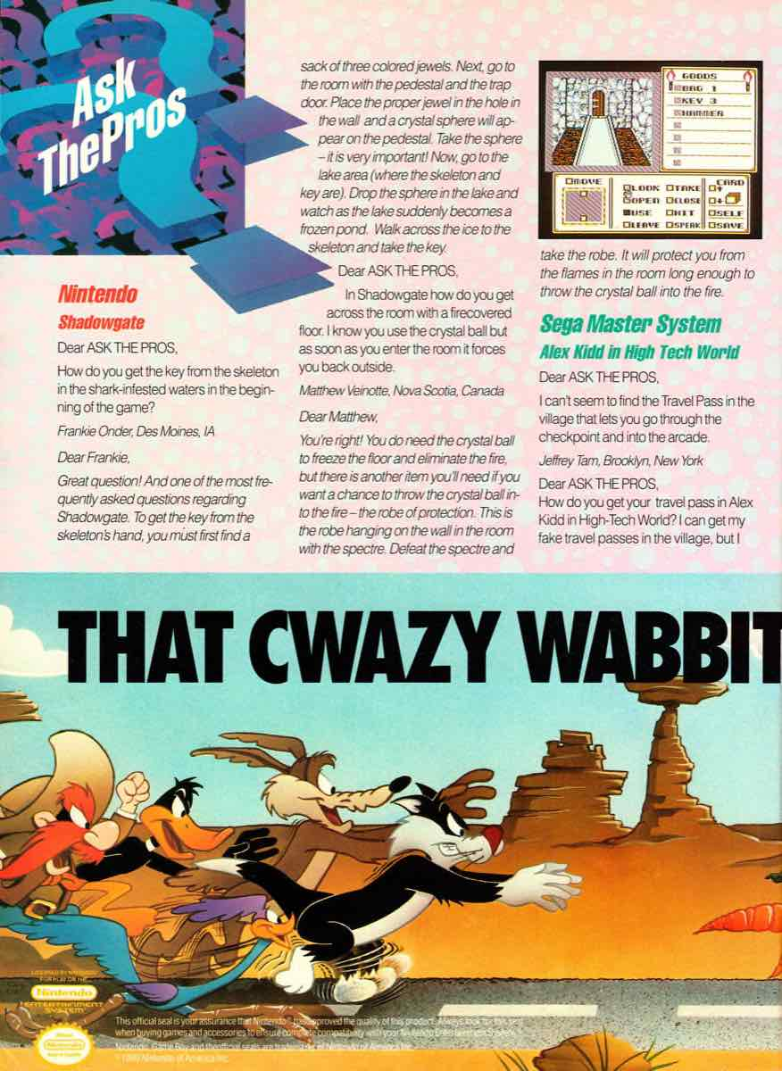 GamePro | July 1990 p-090