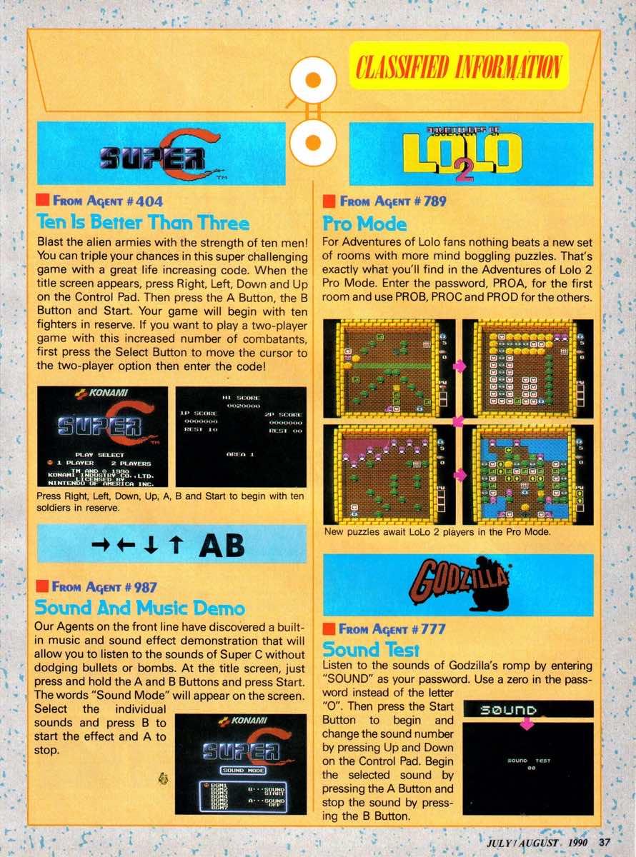 Nintendo Power | July August 1990 p-037
