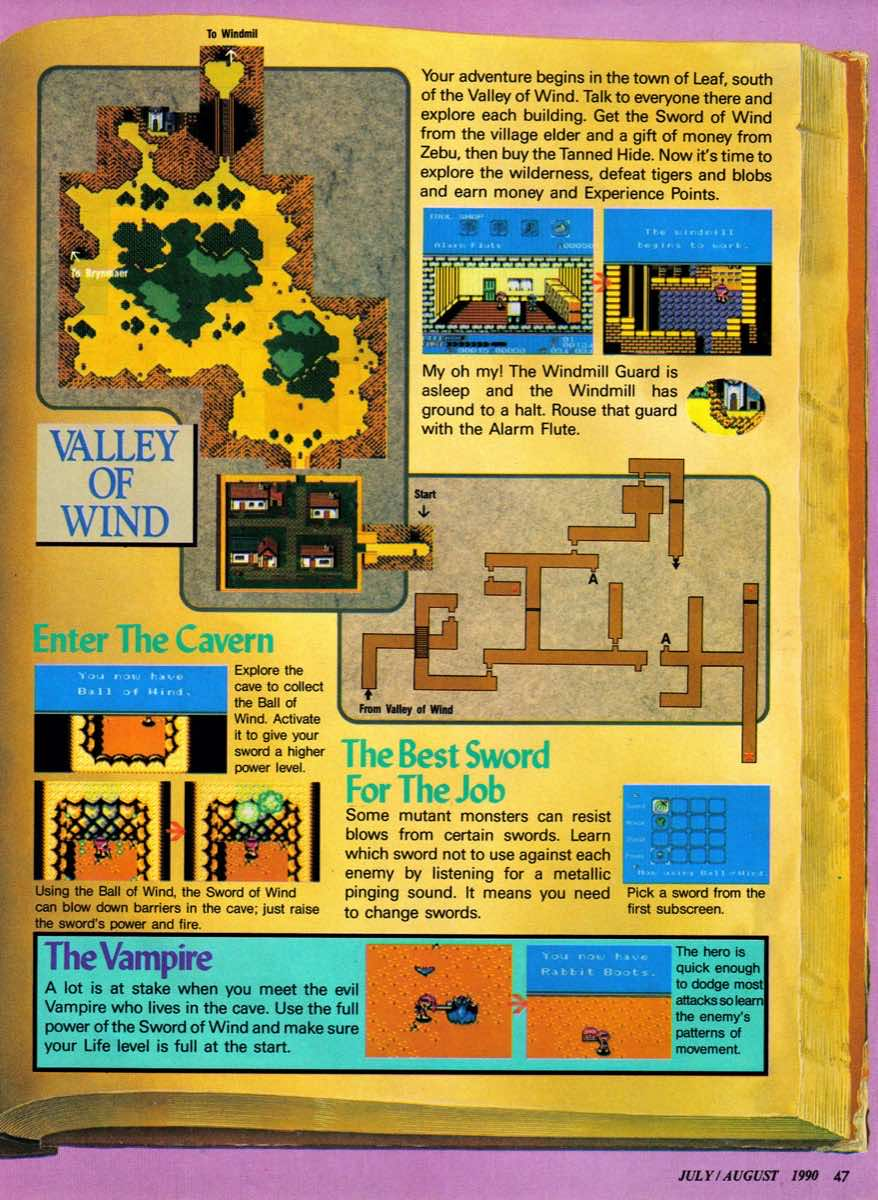 Nintendo Power   July August 1990 p-047