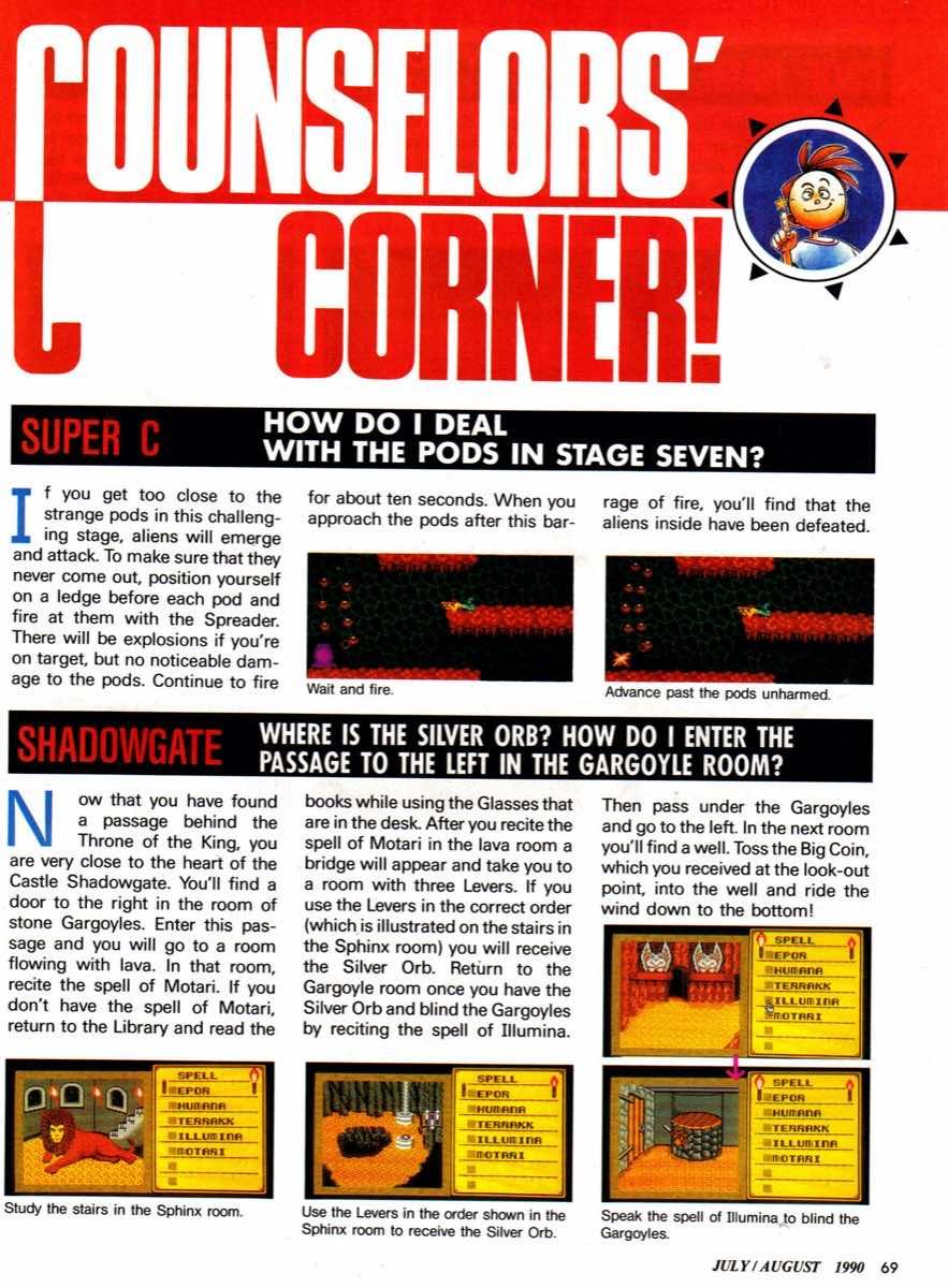 Nintendo Power | July August 1990 p-069