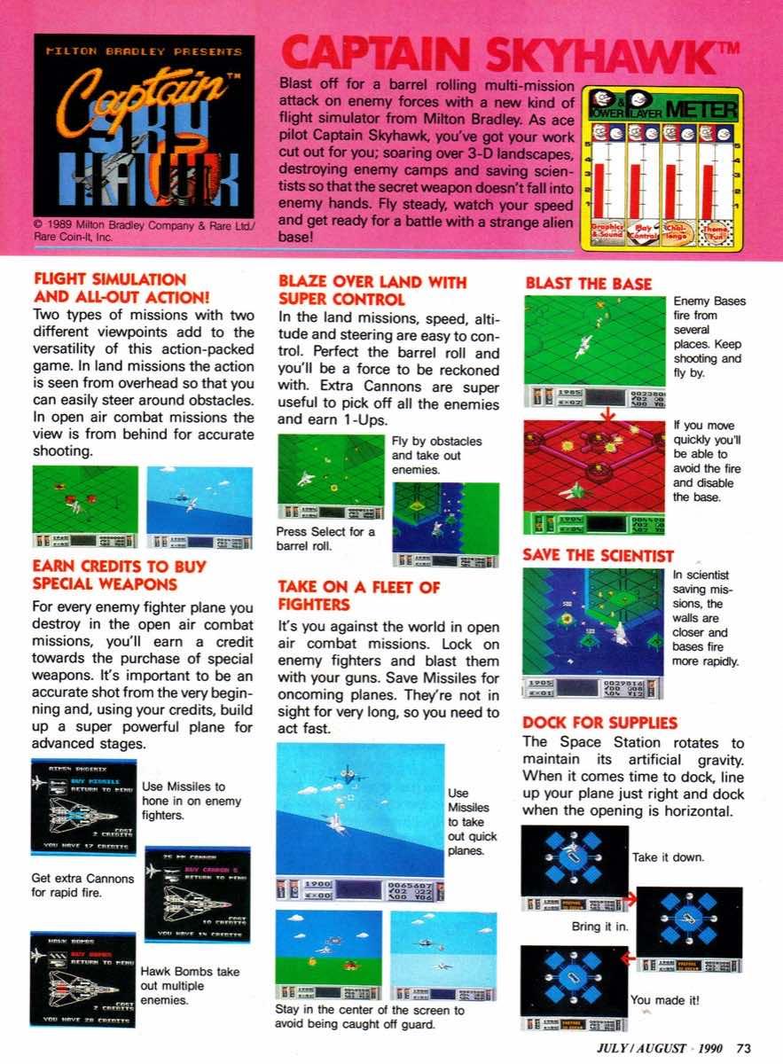 Nintendo Power   July August 1990 p-073