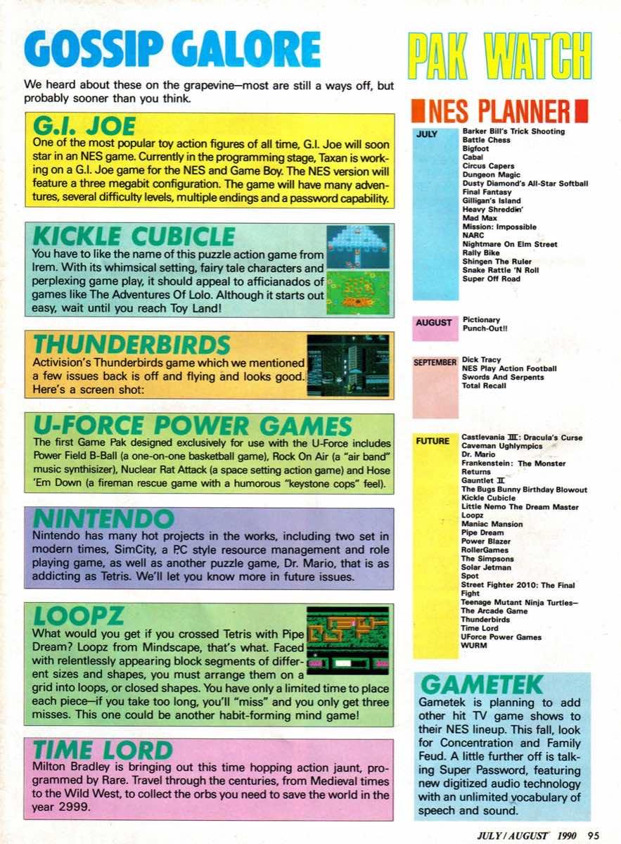 Nintendo Power | July August 1990 p-095