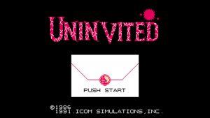 Uninvited (NES) Game Hub
