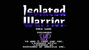 Isolated Warrior (NES) Game Hub