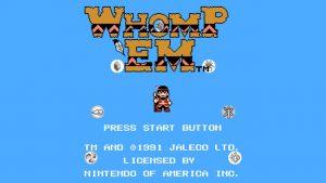 Whomp 'Em (NES) Game Hub